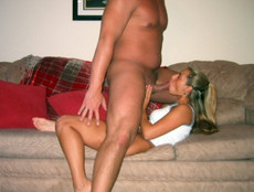 Sex starved housewife shows off..